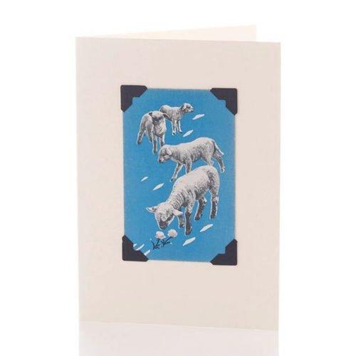 Vintage Card - Lambs