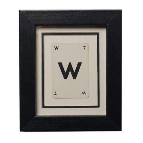 W - Initial frame