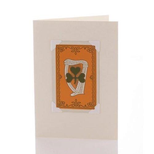 Vintage Card - Clover