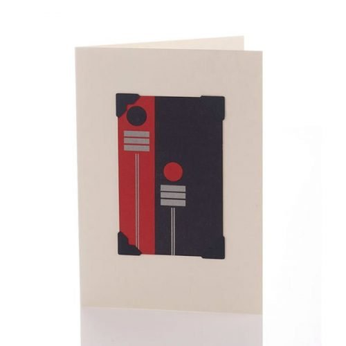 Vintage Card - Abstract Signs