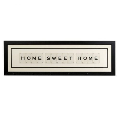 Home Sweet Home mug rack