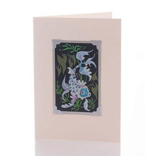 Vintage Card - Silver fish
