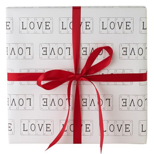 Love gift wrap