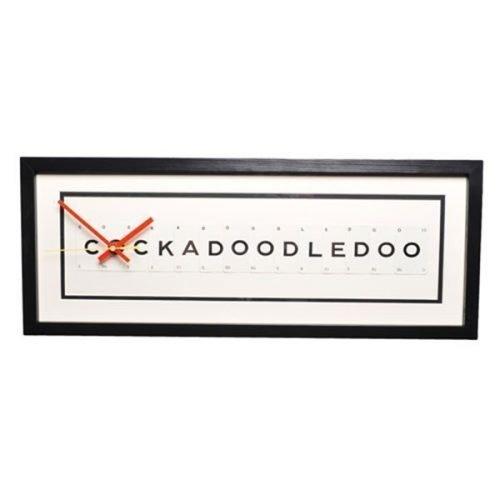 Cockadoodledoo clock