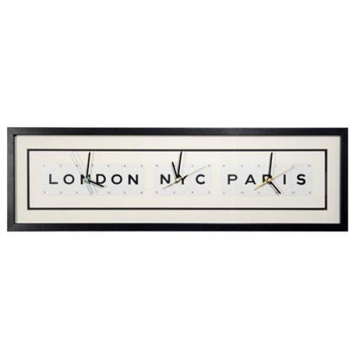 London NYC Paris