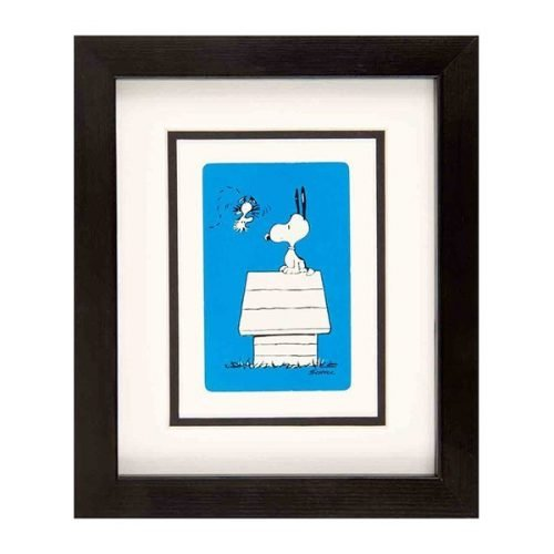Snoopy at home - blue