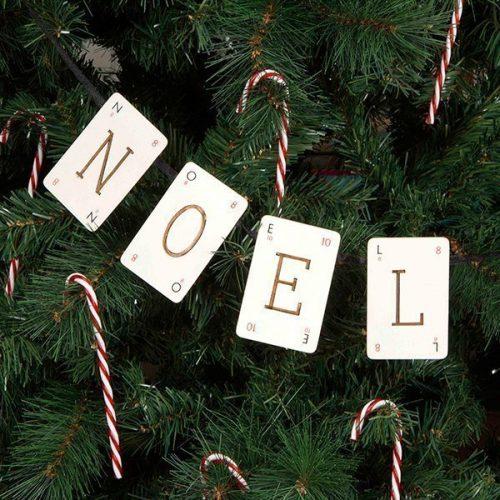 Noel Vintage Christmas Bunting