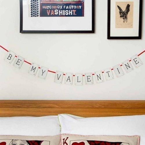 Be My Valentine Bunting