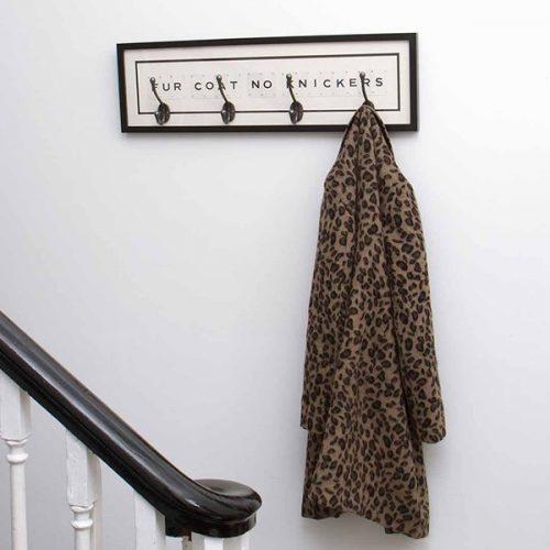 Fur coat no knickers