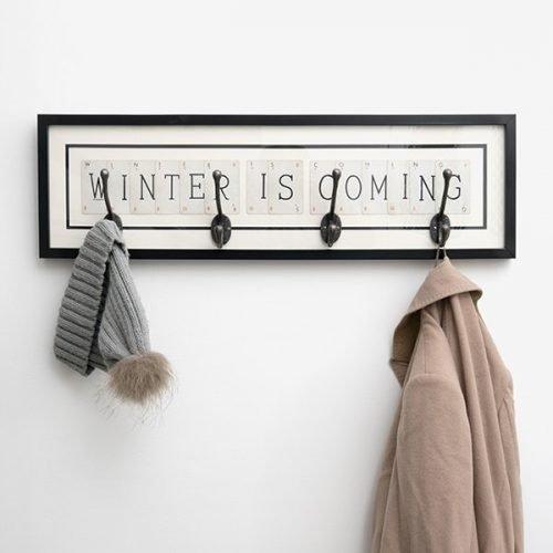 Winter is Coming coat rack