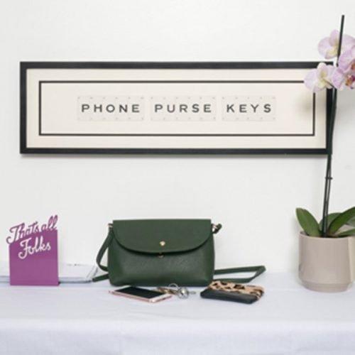 Phone Purse Keys