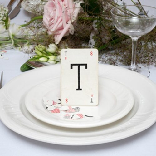 Wedding Initial Place Name