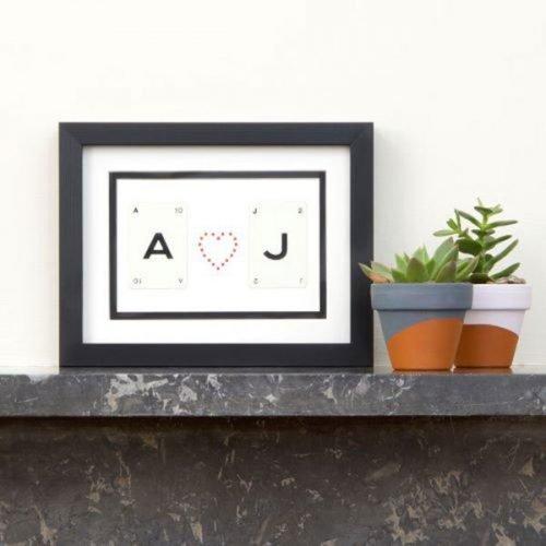 Personalised word frame
