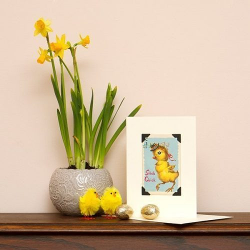 Slick Chick Easter Card