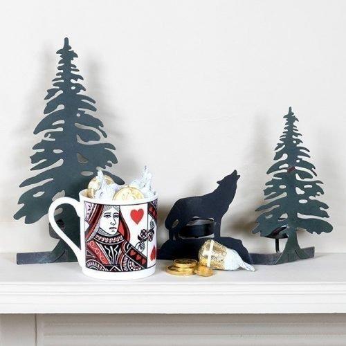 Christmas Queen of Hearts Mug