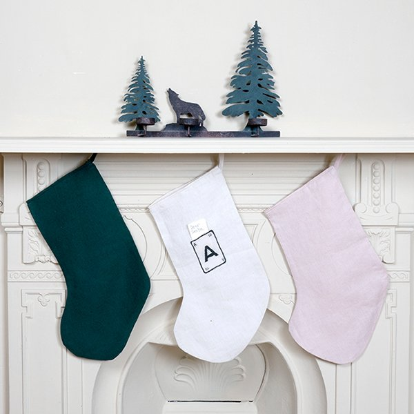 Personalised Letter Christmas Stocking